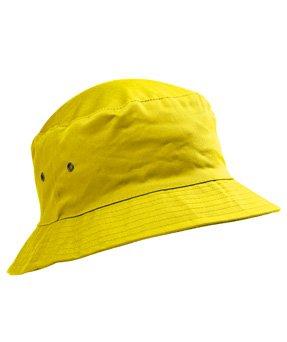0d6701714 School Sun Hat Ages 5-11 School Bucket Hat, Yellow 53, 56