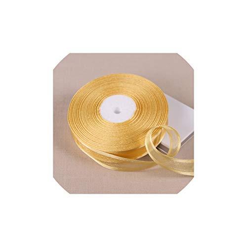 (Ribbons 10 Yards/lot Broadside Organza Ribbons Gift Wrapping Decoration Ribbons,1086)