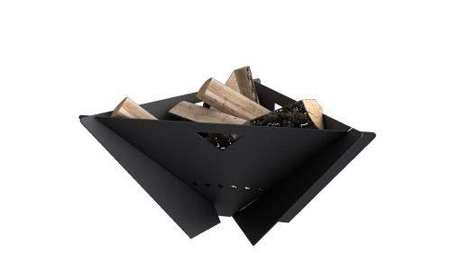 Amazon.com: MF Fire MI-MFD-B Delta - Chimenea, color negro ...