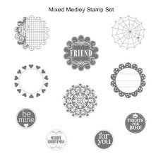 Stampin Up Mixed Medley Clear Stamp Set