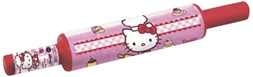 Stor 77996 Rodillo magico doble pared hello kitty baking para repostería, Compuesto,, 25x20x7 cm
