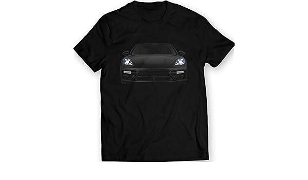 DTG Printing Porsche Panamera 2017 Turbo Camiseta Feux Avant 100% Algodón: Amazon.es: Ropa y accesorios