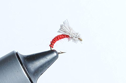 (Blue Wing Olive Serendipity Fly, 6 Pack (Red, 18))