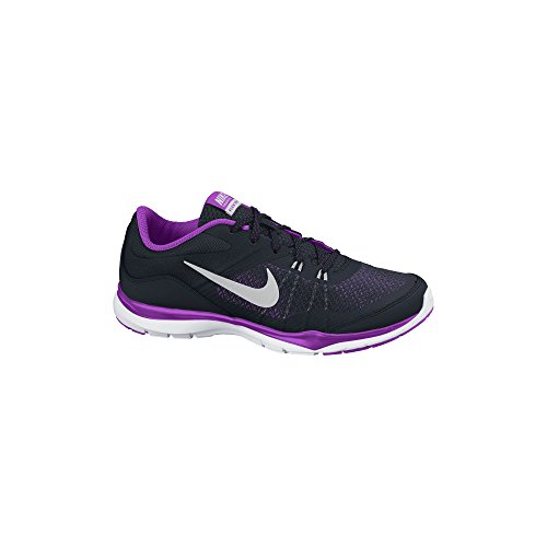 Women's Nike Flex Trainer 5 Training Shoe Black/Purple ...