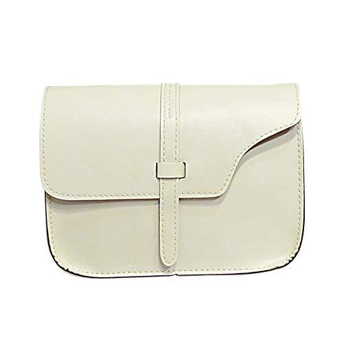 Casual Belt Square Handbag Shoulder Crossbody Fashion Messenger White Women Satchel Robemon Trend Pouch Small Bag n0w04pxqRH