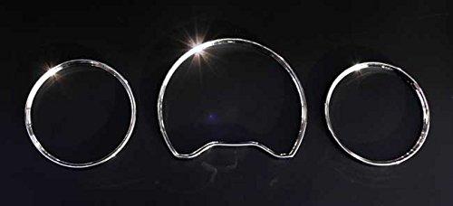 OriginalEuro Euro Chrome Gauge Dash Dial Rings Bezel Trim Speedometer for Mercedes Benz W210 W202 (Euro Dash Trim)