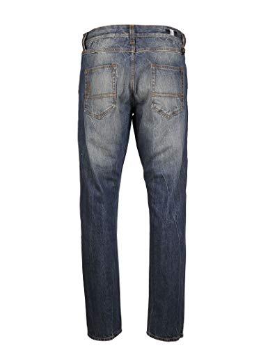 Cotone 1200130549xb724 Jeans Blu Uomo Moncler aqgwR0