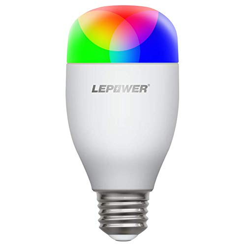 RequiredE26 A19 2700kColor Hub 7w Wifi Light BulbRgb Compatible Smart warm Multicolor ChangingDimmableNo Bulbsmart Led Lepower iTZuPXOk