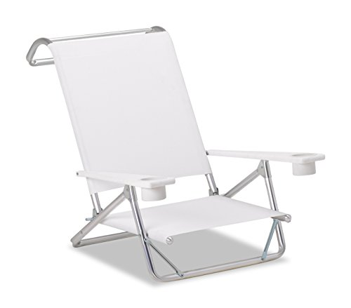Telescope Casual M54106D02 Original Mini-Sun Chaise, White, 2 (Original White Outdoor Chaise Lounge)