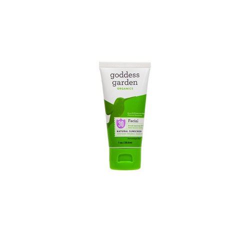 Goddess Garden, Organics, Facial, Natural Sunscreen, SPF 30, 1 oz (29.6 ml) - 2pc