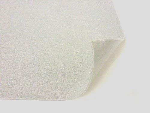 """9"""" x 12"""" Adhesive Backed Craft Felt, White, Pack of 5"""