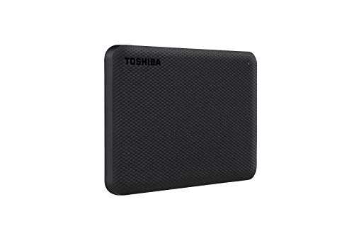 Toshiba Canvio Advance 1TB Portable External Hard Drive USB 3.0, Black - HDTCA10XK3AA