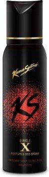 Kamasutra Black X Single Perfumed Body Spray - For Men(120 - Single Kama Sutra
