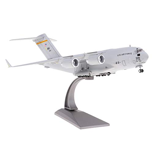 Fenteer 1:200 C-17 Transport Plane American Diecast Military Aeroplane Collection Art Crafts