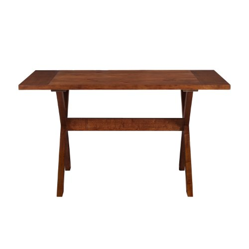 rectangular wood dining table - 4