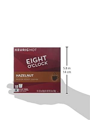 Eight O'Clock Coffee Hazelnut Coffee - 18 ct