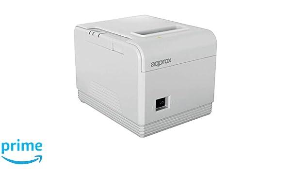 Approx-Tpv APPPOS80AM3WH - Impresora Térmica De Tickets, Blanco ...