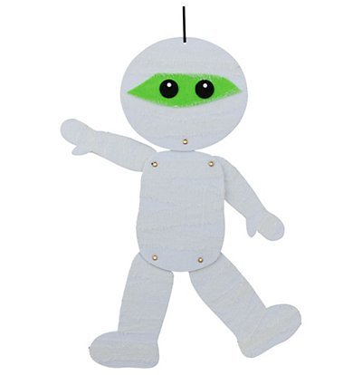 Halloween Jointed Felt Hanging Decoration, 18 (Mummy) (Decorations Halloween Mummy)