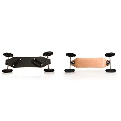 OPB SDS New Improved Mountain Board Skateboard : Off Road Skateboard : Sports & Outdoors
