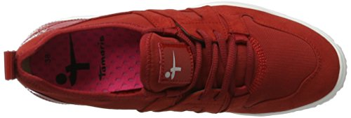 Sneakers Tamaris Donna 23651 Rosso (sangria 536)
