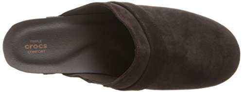 Pictures of Crocs Women's Sarah Suede Clog Mule 6.5 M US 2