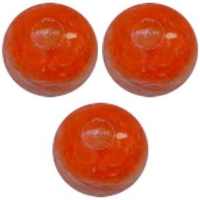 EPCO-Duckpin-Bowling-Ball-StarLine-Pearl-3-Orange-Balls