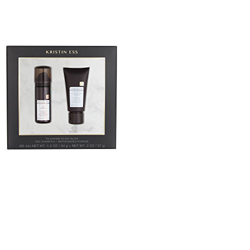 Price comparison product image Kristin Ess Dry Shampoo(1.2oz) + Water Based Pomade(2oz) gift set, pack of 1