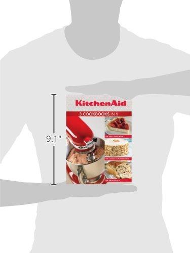 KitchenAid 3 Cookbooks in 1: Pies & Tarts; Cakes & Cupcakes; Breads - smallkitchenideas.us