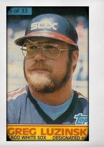 1984 Topps Cereal Series #5 Greg Luzinski ()