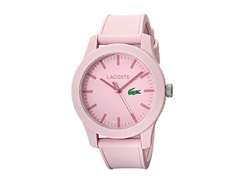 Lacoste L.12.12 Three-Hand Pink Silicone Men's watch #2010773