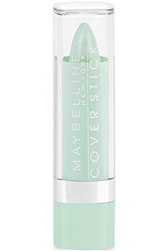 Maybelline New York Cover Stick Concealer, Green 195, 0.16 Ounce (Best Green Concealer For Acne)