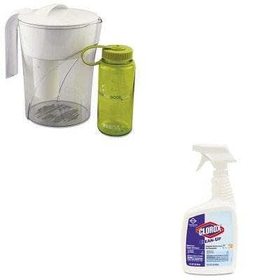 KITCOX35391COX35417EA - Value Kit - Brita Classic Pour-Through Pitcher (COX35391) and Clorox Clean-Up Cleaner w/Bleach (COX35417EA) - Clorox Brita Classic Pitcher