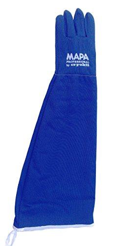 MAPA Professional CRYPLS216509 CRYOPLUS-2.1 65 Cryogenic Glove, Cryoplus 2.1 65 (26''-Sh), Size 9, PR 1, Blue by MAPA Professional (Image #1)