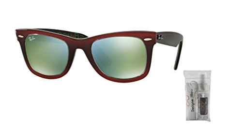 Rb2140 Ray Light Green Top Red Red New Wayfarer On Grad Ban mirror 5wRxfqZw