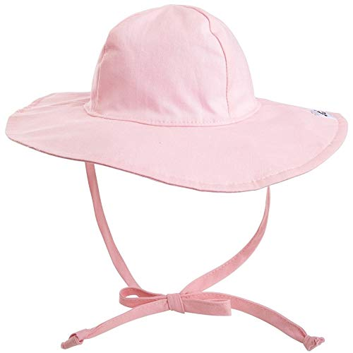 Face Cap Happy (Flap Happy Baby-Girls Newborn Floppy Hat, Pink, X-Small)