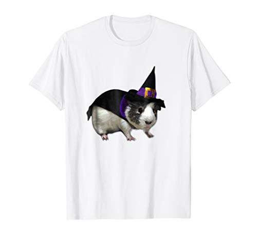 Guinea Pig Witch T-Shirt - Halloween Costume