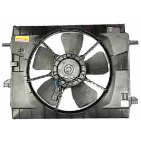 Dual Rad /& Cond Fan Assembly Fits 2006-2011 Chevrolet HHR L4 2.2L /& 2.4L
