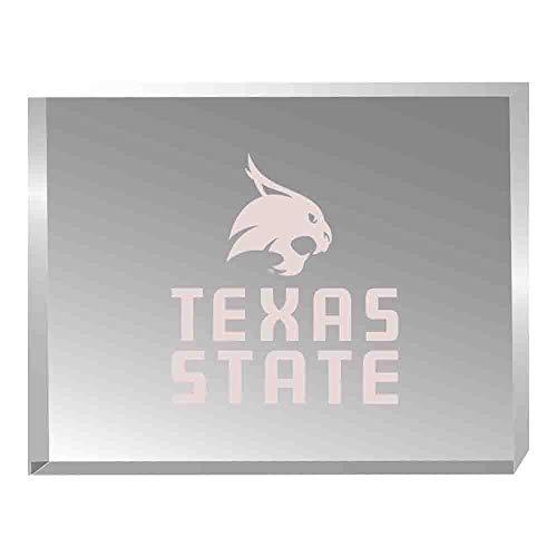 (Texas State University-Acrylic Award Desk Piece/Paperweight)