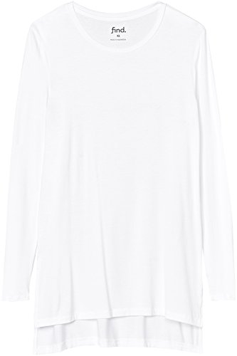 Amazon Brand - find. Women's Side Slit Long Sleeve Top