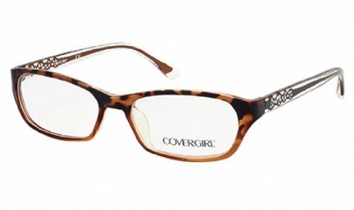 Cover Girl CG0510 Eyeglasses 54 052 Dark Havana