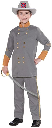Forum Novelties Confederate Officer Child's Costume, -