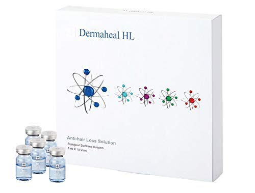 Dermaheal HL Anti-Hair Loss Solution (Biological Sterilized Solution) 10x5ml/0.17oz