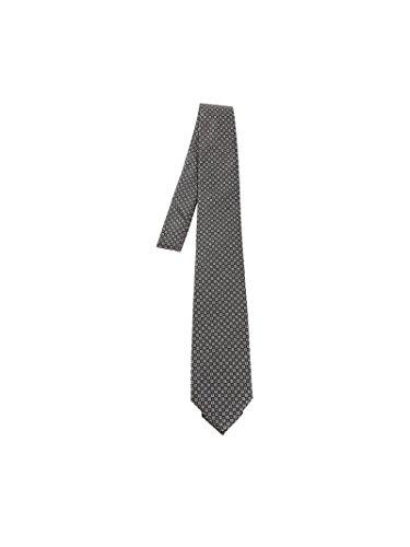 Z Zegna Men's Z3d031l7b Grey Silk Tie by Z Zegna