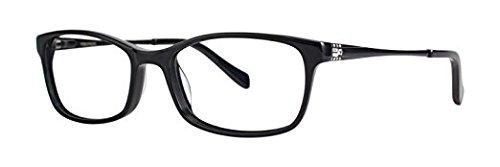 VERA WANG Eyeglasses V388 Black 53MM