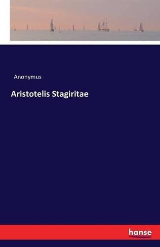Download Aristotelis Stagiritae pdf epub
