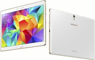 Samsung Galaxy Tab S 10.5 WiFi LTE T805 Unlocked Tablet - Dazzling White - International Version No Warranty, No US LTE support