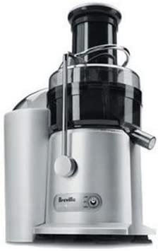Breville Juice Fountain Plus Electric Juicer Black Silver