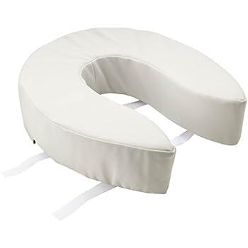 Amazon Com Medline Mds80328 Padded Toilet Seat Riser 4