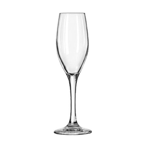 (Libbey Glassware 3096 Perception Glass Flute, 5-3/4 oz. (Pack of 12))