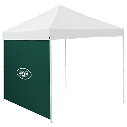 "Logo Brands NFL New York Jets 9"" x 9"" Side Panel Canopy, One Size, Hunter"